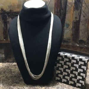 THE LIMIITED SILVER CHAIN NECKLACE NWT